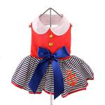 View Image 3 of Sailor Girl Dog Harness Dress by Doggie Design
