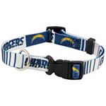 View Image 1 of Los Angeles Chargers Dog Collar