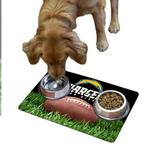 View Image 1 of San Diego Chargers Pet Bowl Mat