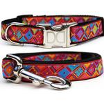 View Image 1 of Bali Breeze Dog Collar and Leash Set by Diva Dog