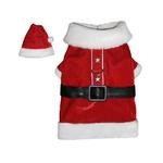 View Image 1 of Santa Paws Dog Coat