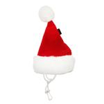 View Image 1 of Santa's Dog Hat by Puppia - Red
