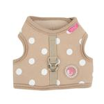 View Image 1 of Sassa Dog Harness Vest by Pinkaholic - Beige