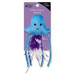 View Image 1 of Savvy Tabby Glitter Critters Cat Toy - Jellyfish