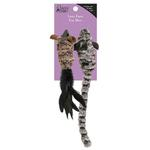 View Image 5 of Savvy Tabby Luxe Faux Fur Mice Cat Toy