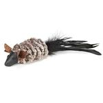 View Image 2 of Savvy Tabby Luxe Faux Fur Mice Cat Toy