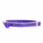 View Image 1 of Savvy Tabby Sparkle Paw Cat Collar - Ultra Violet