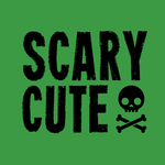 View Image 2 of Scary Cute Dog Shirt - Green
