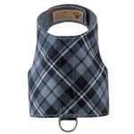 View Image 1 of Scotty Bailey Dog Harness by Susan Lanci - Charcoal Plaid