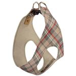 View Image 2 of Scotty Step-In Dog Harness by Susan Lanci - Doe Plaid
