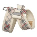View Image 2 of Scotty Tinkie Dog Harness with Big Bow by Susan Lanci - Doe Plaid