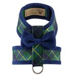 View Image 1 of Scotty Tinkie Two-Tone Dog Harness by Susan Lanci - Forest Plaid
