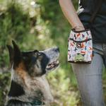 View Image 2 of Scout and About Deluxe Training Dog Treat Pouch - Vanilla