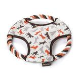 View Image 1 of Scout and About Flying Disc Rope Dog Toy - Vanilla