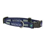 View Image 1 of Seattle Mariners Baseball Printed Dog Collar