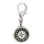 View Image 1 of Seattle Mariners Logo Dog Collar Charm