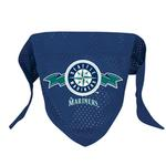 View Image 1 of Seattle Mariners Mesh Dog Bandana