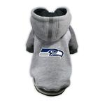 View Image 1 of Seattle Seahawks NFL Dog Hoodie - Gray