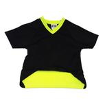 View Image 2 of Seattle Sounders Athletic Mesh Dog Jersey - Black with Neon Trim