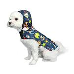 View Image 1 of Zootopia Dog Raincoat by Pooch Outfitters - Navy Blue