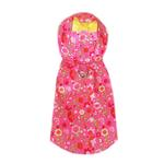 View Image 2 of Serena Dog Raincoat by Pooch Outfitters - Pink