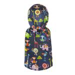 View Image 2 of Zootopia Dog Raincoat by Pooch Outfitters - Navy Blue
