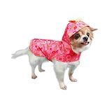 View Image 1 of Serena Dog Raincoat by Pooch Outfitters - Pink