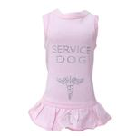 View Image 1 of Service Dog Dress by Hello Doggie - Pink
