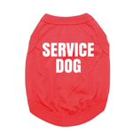 View Image 1 of Service Dog Shirt - Red