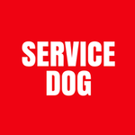 View Image 2 of Service Dog Shirt - Red
