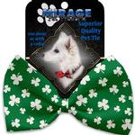 View Image 2 of Shamrock Dog Bow Tie