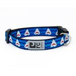 View Image 1 of Shark Attack Adjustable Clip Dog Collar By RC Pet