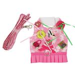 View Image 1 of Shop 'til You Drop Dog Harness Vest with Leash by Cha-Cha Couture