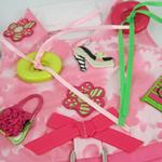 View Image 3 of Shop 'til You Drop Dog Harness Vest with Leash by Cha-Cha Couture