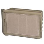View Image 2 of Short Carpeted Bi-Fold Pet Ramp - Tan