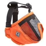 View Image 2 of Short Snout Dog Muzzle by Canine Friendly - Orange