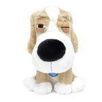 View Image 1 of SleepeeZ Plush Dog Toy - Beige Cream