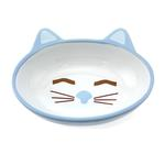 View Image 1 of Sleepy Kitty Blue Cat Bowl