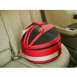 View Image 2 of Sleepypod Mobile Pet Carrier Bed - Strawberry Red