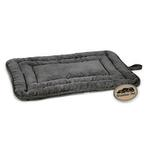 View Image 2 of Slumber Pet Reversible Dog Bed - Charcoal Gray