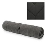 View Image 1 of Slumber Pet Reversible Dog Bed - Charcoal Gray