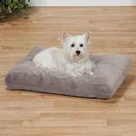 View Image 2 of Slumber Pet ThermaPet Burrow Dog Bed - Gray