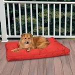 View Image 2 of Slumber Pet Toughstructable Dog Bed - Red