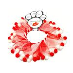 View Image 1 of Smoochers Pet Scrunchie - Candy Cane Fuzzy Wuzzy