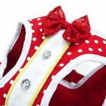 View Image 5 of SnapGo Mini Dots Dog Harness by Dogo - Red