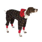 View Image 1 of SnoJam Dog Fleece by Ultra Paws - Toofers Black/Red