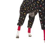 View Image 4 of SnoJam Dog Fleece by Ultra Paws - Toofers Black/Red