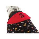 View Image 6 of SnoJam Dog Fleece by Ultra Paws - Toofers Black/Red