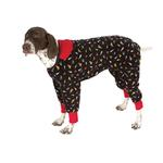 View Image 2 of SnoJam Dog Fleece by Ultra Paws - Toofers Black/Red