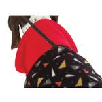 View Image 7 of SnoJam Dog Fleece by Ultra Paws - Toofers Black/Red
